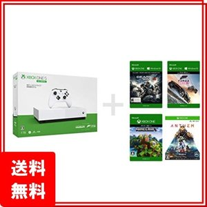 Xbox One S 1 TB All Digital Edition ソフト4本セット Forza...