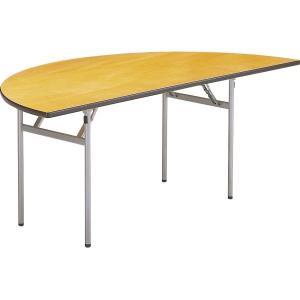 レセプションテーブル 半円型 S-180HR 半径900mm *受注生産品 1-385-0133|economy