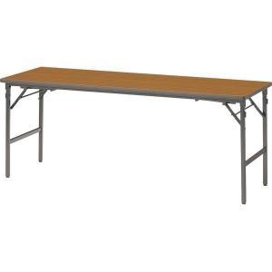 座卓兼用テーブル B-1860 チーク 幅1800×奥行き600×高さ700・320mm 1-385-0413|economy