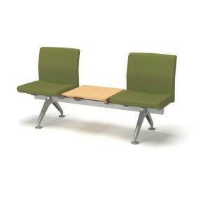 コクヨ ロビーチェアー4700シリーズ 3連テーブル付きチェアー CN-4703T|economy