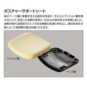 コクヨ デュオラ(Duora) クッションタイプ ハイバック?可動肘付き 樹脂脚(ブラック) CR-G3111 economy 05