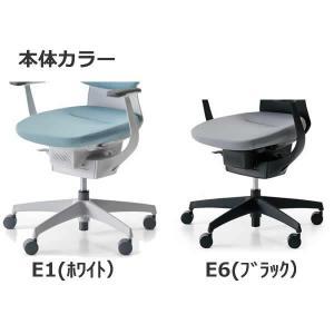 コクヨ オフィスチェア(イング/ing)バーチカルタイプ アルミ肘・アルミポリッシュ脚 CR-GA3243|economy|03