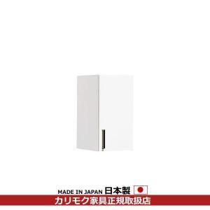 カリモク キッチン収納/ キチット・アイシリーズ 天袋(右) 幅384mm×高さ576mm EA1318A005|economy
