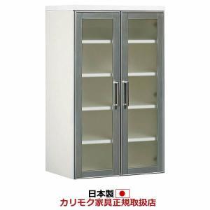 カリモク ダイニング/キチット・アイシリーズ 食器棚上置 幅577mm EA2325HH|economy