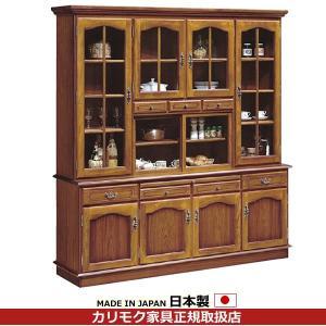 カリモク 食器棚・ダイニングボード/コロニアル 食器棚 幅1820mm EC6000NK|economy