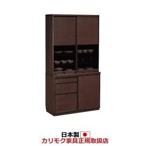 カリモク 食器棚 幅1010mm 高さ1936mm ET3910|economy