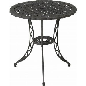 ガーデンテーブル/ モールド ラウンドテーブル HJH-22324T (81053) F-81053 economy