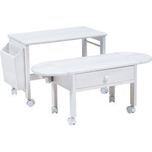 パソコンテーブル ホワイト MT-2702WH HA-100952700|economy