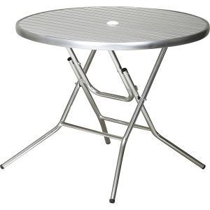 (クーポス)屋外用アルミフォールディングテーブル HL-F90RT economy