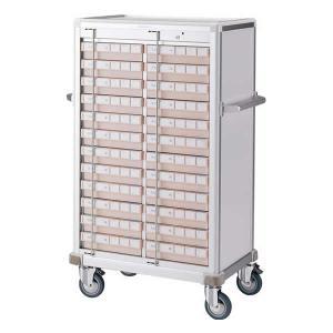 コクヨ 与薬カート24床用 HP-MCTY224|economy