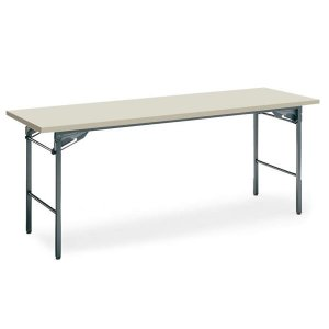 コクヨ 会議 ミーティング用テーブル KT-30シリーズ 脚折りたたみ式 棚なし 幅1500×奥行き450mm KT-33NN|economy