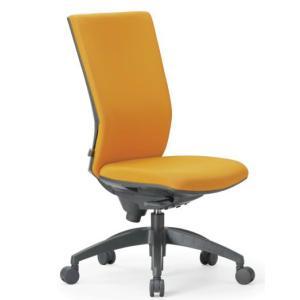 オフィスチェア ハイバック 肘なしタイプ 防汚性布張り OS-2245|economy