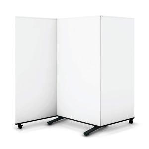 コクヨ 会議サポートツール ホワイトボードスクリーン 3連 高さ1500mm SN-V153W|economy