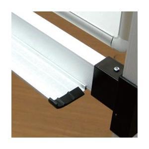 ホワイトボード 脚付き 片面 (ボードサイズ1200×900mm) マーカーセット付き WIP-1209F|economy|03