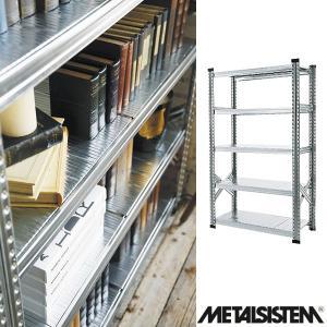 メタルシステム/METALSISTEM 5段スチールシェルフ 幅900mm 5ティア (Q1870) Y-001852 economy