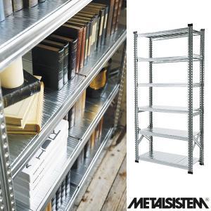 メタルシステム/METALSISTEM スチールシェルフ 6段 幅900mm 6ティア (Q1872) Y-001869 economy