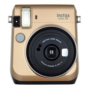 """富士フイルム """"チェキ""""instax mini70N ゴールド チエキカメラ INS MINI 70N GOLD econvecoco"""