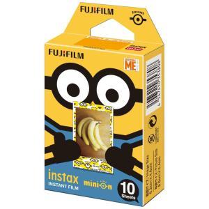 インスタントカメラ チェキ専用インスタントカラーフィルム instax mini 絵柄入りフレーム 「ミニオン・通常版」 FUJIFILM<富士フイルム>|econvecoco