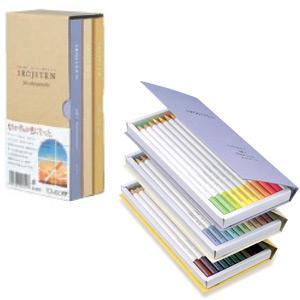トンボ鉛筆 色辞典 第一集〜三集 色鉛筆全90色セットIROJITEN|econvecoco|04
