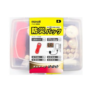 マクセルmaxellアルカリ乾電池防災パック【防災用】 econvecoco