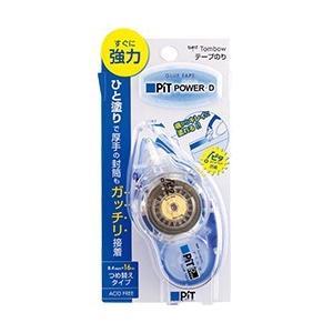 トンボ鉛筆 テープのり ピットのりパワーD 8.4mm幅×16m 詰め替えタイプ PN-IP econvecoco