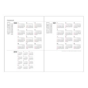 ダイゴー<DAIGO> 2020年(Appoint) アポイントダイアリー デスク 1週間+横罫 A5 E1036|econvecoco|02