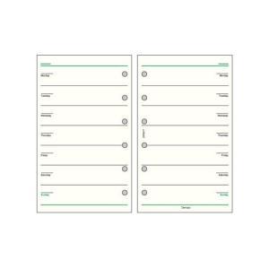レイメイ藤井 ダ・ヴィンチ リフィル ポケットサイズ スケジュール フリーウィークリースケジュールC DPR217|econvecoco