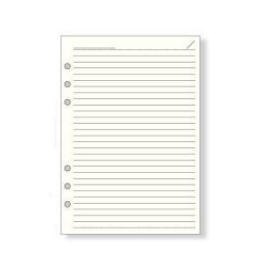 レイメイ藤井 ダ・ヴィンチ リフィル A5サイズ ノート 徳用ノート(6.5mm罫)クリーム DAR459|econvecoco