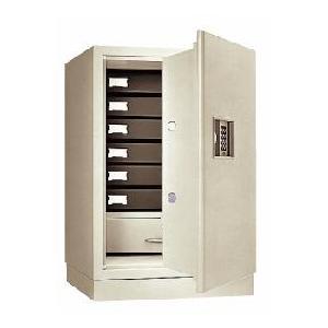 日本アイ・エス・ケイ(旧キング工業) プッシュボタン式耐火金庫 KS-50E-F|econvecoco