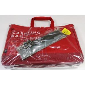 LIHIT LAB.<リヒトラブ> SMART FIT ACTACT キャリングバッグ横型 A7670-3 レッド+ショルダーベルト A7679 econvecoco