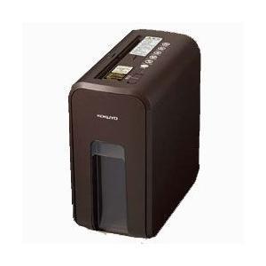 コクヨ デスクサイドシュレッダー KPS-X80S ビターブラウン