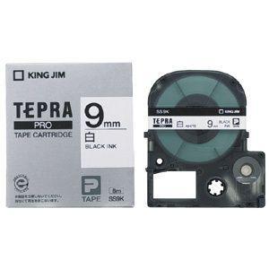キングジム テプラPROテープカートリッジ 白ラベル 9mm SS9K econvecoco