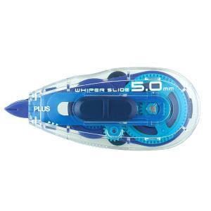 メーカー取寄せ商品 プラス(PLUS) 修正テープ ホワイパー スライド 5mm幅 本体 WH-01...