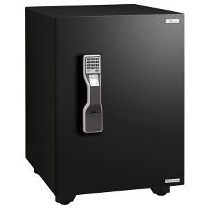 エーコー インテリアデザイン金庫「GUARD MASTER」 OSD-FE 2マルチロック式(テンキー式&指紋照合式) 1時間耐火 51.5L 「EIKO」|econvecoco