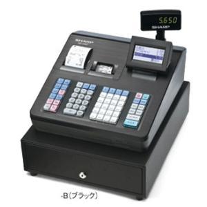 [メーカー欠品:9月中旬入荷予定]シャープ<SHARP>電子レジスター XE-A407-B(XEA407B) ブラック 2シートブロック別キーボードタイプ econvecoco