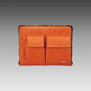LIHIT LAB.<リヒトラブ> TEFFA バッグ・イン・バッグ A5サイズ A-7553-4 橙 (A-7553-橙)|econvecoco