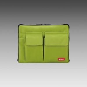 LIHIT LAB.<リヒトラブ> TEFFA バッグ・イン・バッグ A5サイズ A-7553-6 黄緑 (A-7553-黄緑)|econvecoco