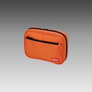 LIHIT LAB.<リヒトラブ> TEFFA マルチカードケースA-7550-4 橙 (A-7550-橙)|econvecoco