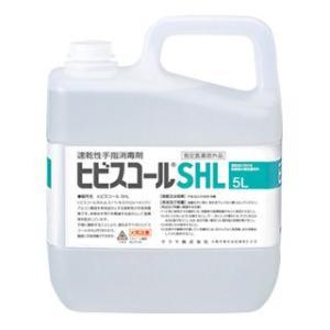サラヤ<SARAYA> 速乾性手指消毒剤 ヒビスコールSHL 5L [指定医薬部外品]|econvecoco