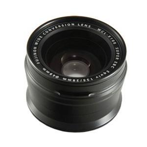 FUJIFILM<富士フイルム> ワイドコンバージョンレンズ X100専用 WCL-X100B ブラック econvecoco