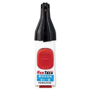 コクヨ<KOKUYO> 色付き瞬間接着剤 「REDTECH(レッドテック)」 ゼリー状タイプ タ-K501 econvecoco