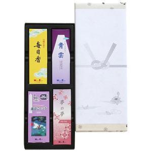 線香 御香セット 1000°包装品 #66715 【ご進物用お線香】日本香堂|econvecoco