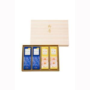 線香 かたりべラベンダー/白梅 進物 4箱入 化粧袋入 #26345 【ご進物用お線香】日本香堂|econvecoco