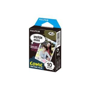 インスタントカメラ チェキ専用インスタントカラーフィルム instax mini 絵柄入りフレーム コミック チェキフィルム FUJIFILM<富士フイルム>|econvecoco