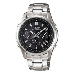 カシオ リニエージ 電波ソーラー腕時計 LIW-M610D-1AJF 国内正規品 ソーラークロノグラフモデル CASIO LINEAGE|econvecoco