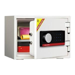 タッチスクリーン式耐火金庫 S001TSL9002 オフホワイト A4対応 家庭用耐火金庫 1時間耐火 容量16L ディプロマット・ジャパン econvecoco