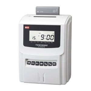 MAX<マックス> PCリンクタイムレコーダ(タイムロボ) ER-201S2/PC 4シフト 50名対応|econvecoco