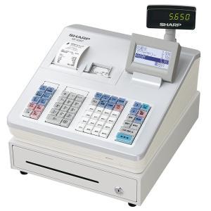 [メーカー欠品中 9月下旬入荷予定]シャープ<SHARP>電子レジスター 2シートスタンダードモデル XE-A307-W(XEA307W) ホワイト econvecoco