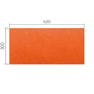 ミワックス THEデスクマット オレンジ06 MX-6230-OR|econvecoco