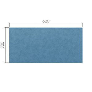 ミワックス THEデスクマット シーガルブルー11 MX-6230-SBU|econvecoco